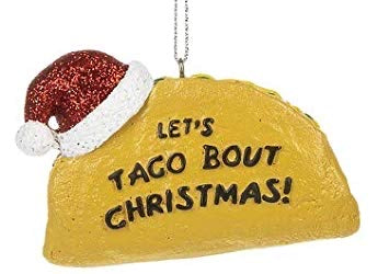 Taco Avocado ornaments - Owl Cove