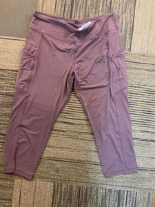 Butter Capri Leggings with Side Pockets - Owl Cove