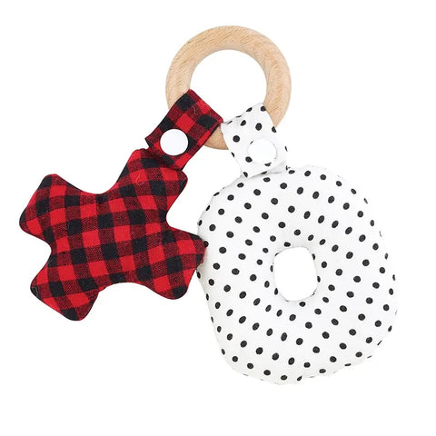 Wood Teether Toy - Owl Cove