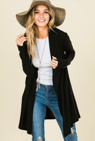 The BLACK Cardigan