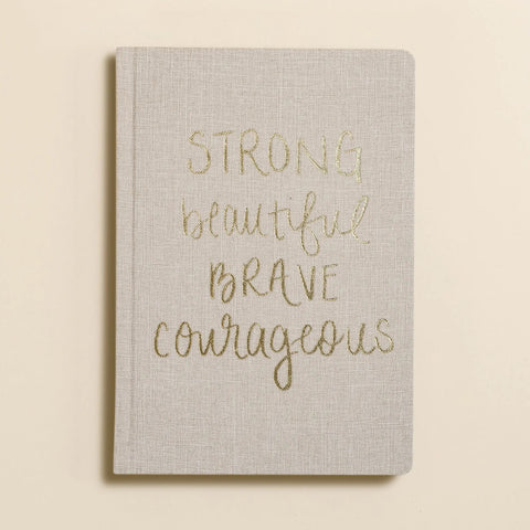 Strong Beautiful Journal - Owl Cove