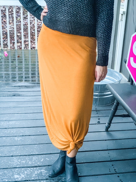 Relaxed Maxi Skirt - Owl Cove