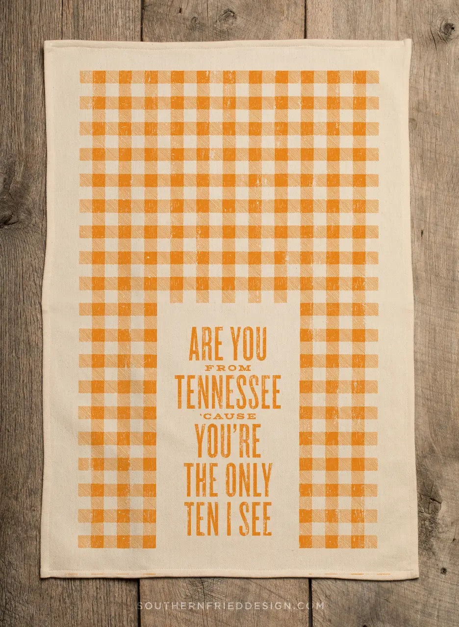 Are You From Tennessee 'Cause You're... - Kitchen Towel - Owl Cove