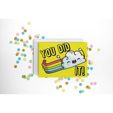 You Did It Card - Owl Cove