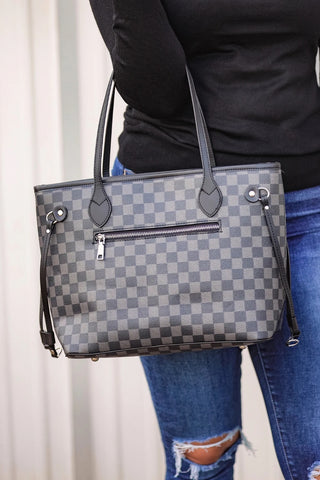 Checkered Purses