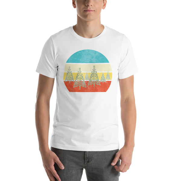 Random Forest (No Text) Unisex Short Sleeve Jersey T-Shirt with Tear Away Label