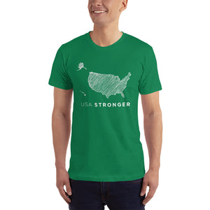 USA Stronger Men's Tee