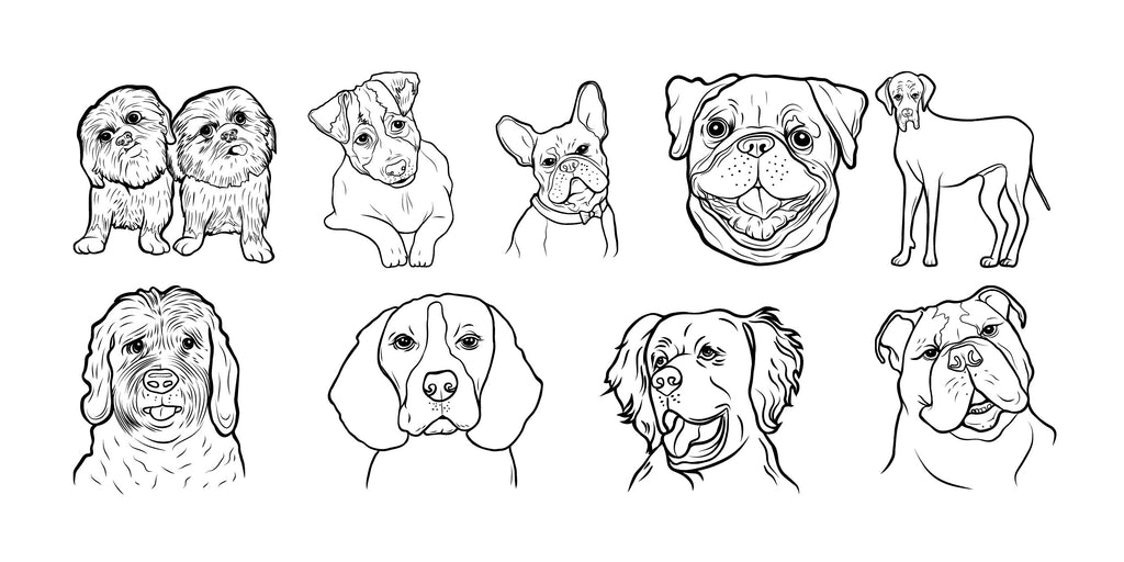 International Dog Day Colouring-in Competition
