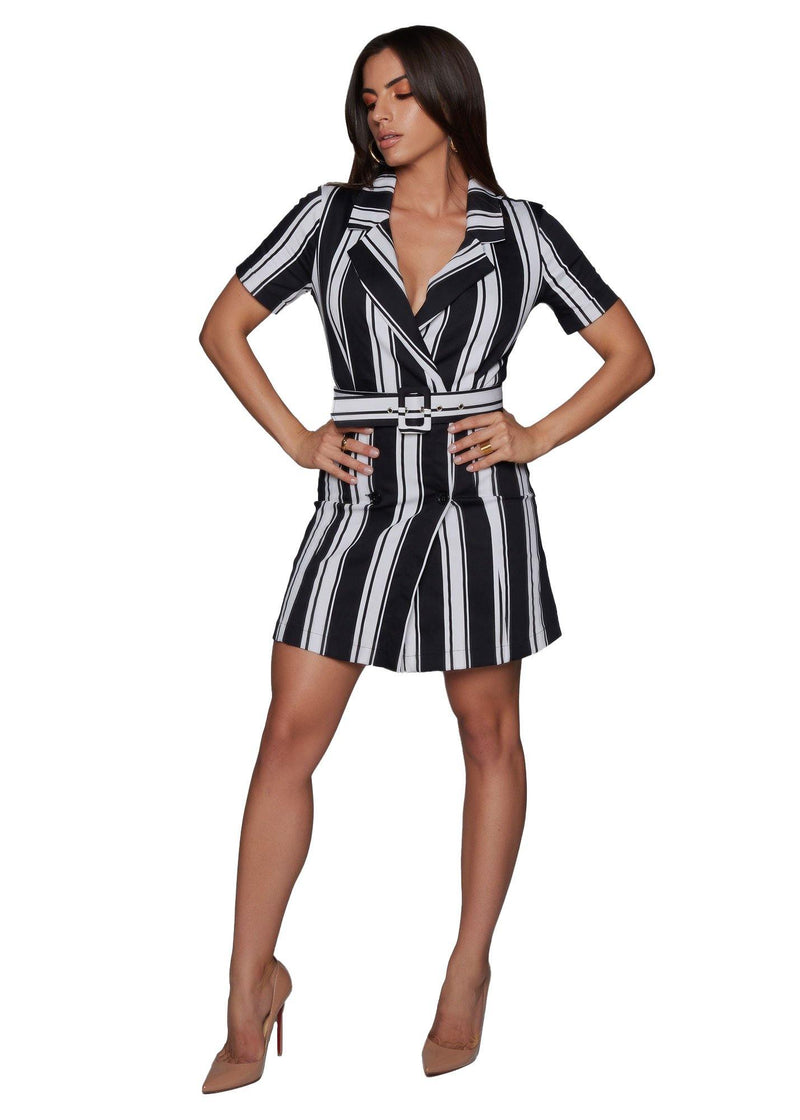 Lucid Striped Dress