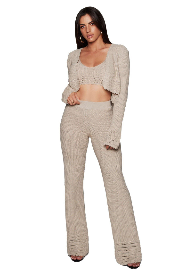 Resort Nude Pant