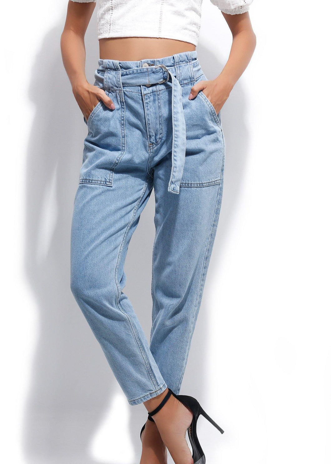 FANCY DENIM PANT