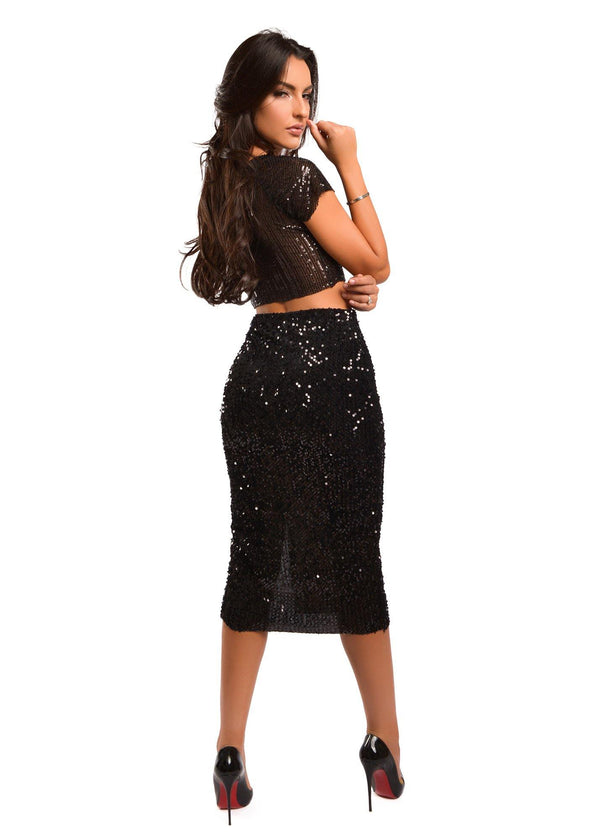 DONNA BLACK SKIRT - Be Zazzy