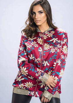 Floral Jacket - Be Zazzy