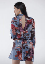 Load image into Gallery viewer, Fine Line Floral Dress - Be Zazzy