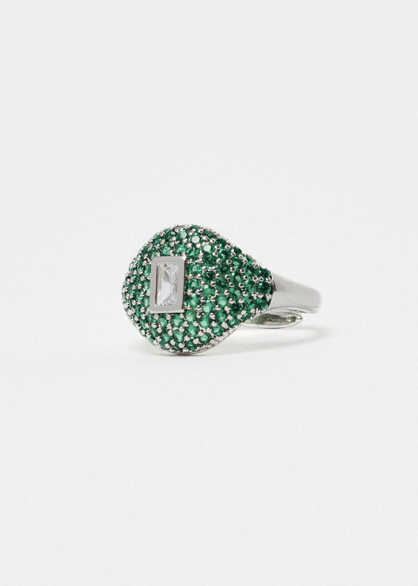 Malachite Square Ring