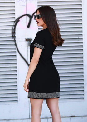 Jane Black Dress - Be Zazzy