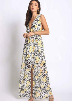 GARDEN MAXY DRESS - Be Zazzy