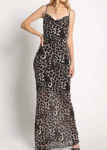 Load image into Gallery viewer, LEOPARD MAXI DRESS - Be Zazzy