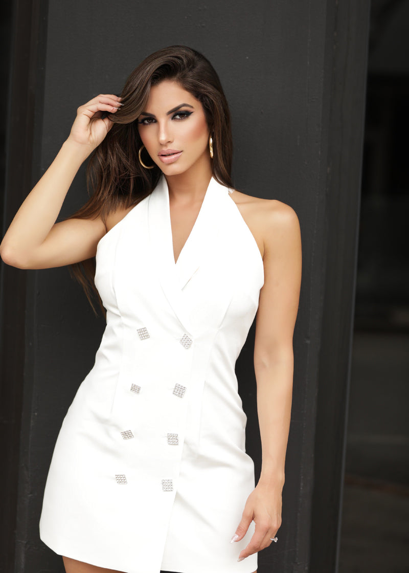Kira White Dress & Jacket