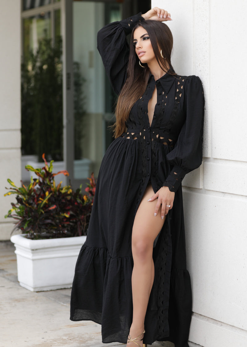 Raysa Black Dress