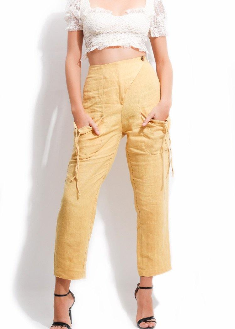 FINE LINE SUMMER PANTS - Be Zazzy