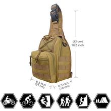 Load image into Gallery viewer, Basic Cross Shoulder Military Bag - New Trend Clothing