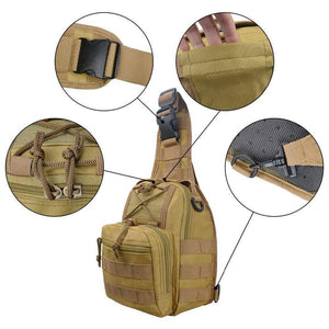 Basic Cross Shoulder Military Bag - New Trend Clothing