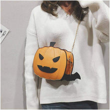 Load image into Gallery viewer, Halloween pumpkin handbag - New Trend Clothing