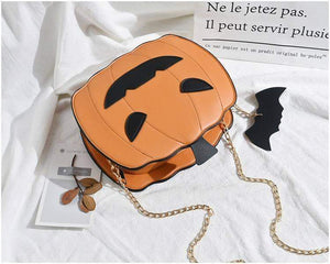 Halloween pumpkin handbag - New Trend Clothing