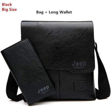 Load image into Gallery viewer, Genuine Mens Leather Messenger Bag - New Trend Clothing