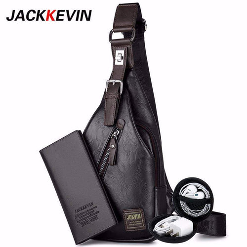 Men's Crossbody Anti-Theft Shoulder Bag - New Trend Clothing