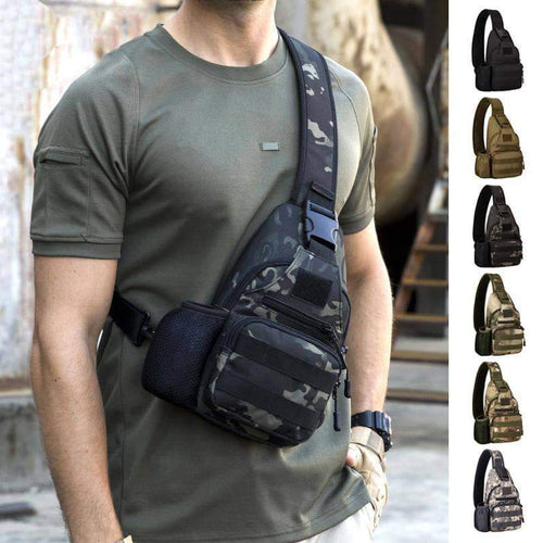 Outdoor USB Charge Anti Theft Tactical Bag - New Trend Clothing