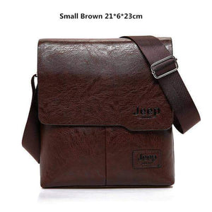 Genuine Mens Leather Messenger Bag - New Trend Clothing