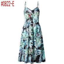 Load image into Gallery viewer, Summer Vintage Bohemian Floral Tunic Beach Dress - New Trend Clothing