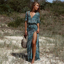 Load image into Gallery viewer, Boho Elegant Beach Robe Elegant Vintage Maxi Dress - New Trend Clothing