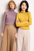 Load image into Gallery viewer, Classic Winter Turtleneck Cashmere Sweater - New Trend Clothing