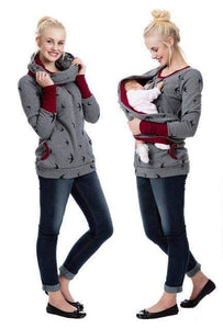 Maternity Winter Nursing Hoodie - New Trend Clothing