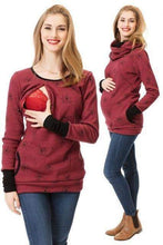 Load image into Gallery viewer, Maternity Winter Nursing Hoodie - New Trend Clothing