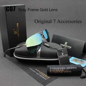 Aluminum Magnesium Polarized Mirror Sunglasses - New Trend Clothing