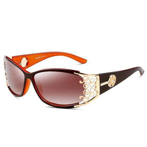 Polarized Vintage Hollow Lace Female Sunglasses - New Trend Clothing