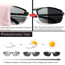 Load image into Gallery viewer, HD Polarized Men Photochromic Sunglasses - New Trend Clothing
