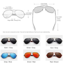 Load image into Gallery viewer, Vintage Classic Aluminum Polarized Sunglasses - New Trend Clothing