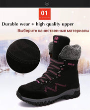 Load image into Gallery viewer, High Quality Waterproof Suede Snow Boots - New Trend Clothing