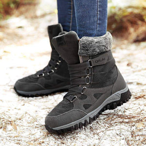 High Quality Waterproof Suede Snow Boots - New Trend Clothing