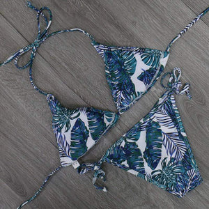 Maureen Low Waist Printed Swimwear - New Trend Clothing
