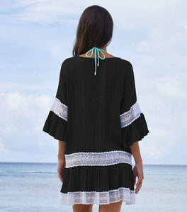 Missy Cotton Tunics Beach Cover Up - New Trend Clothing
