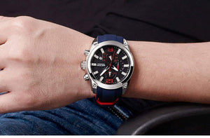 Men's Chronograph Analog Quartz Watch - New Trend Clothing