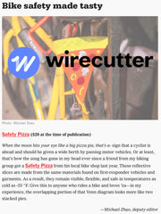 WIRE CUTTER GIFT GUIDE FEATURING SAFETY PIZZA