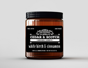 White Birch & Cinnamon