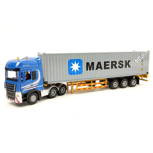 Freight Shipping Container Truck Model